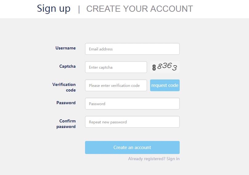Регистрация на криптовалютной бирже RightBTC